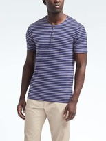 Banana Republic Heritage Stripe Henley