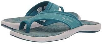 Columbia Keatm II (Teal/Silver Grey) Women's Sling Back Shoes