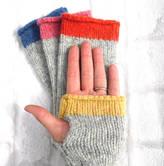 My Baboo Fingerless Gloves Knitting Kit