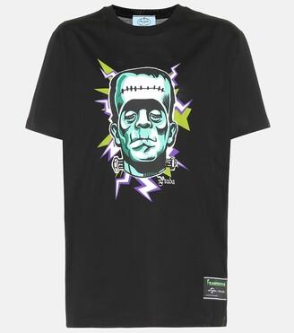 Prada Frankenstein cotton T-shirt