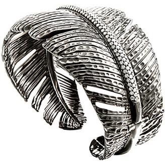 Michael Aram Feather Silver 2.00 Ct. Tw. Diamond Bracelet