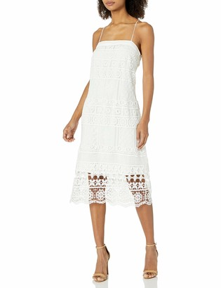 Greylin Women's Shilla Lace Midi Dress