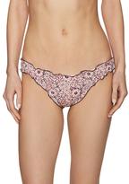 Eberjey Elasticized Bindi Paisley Bikini Bottom