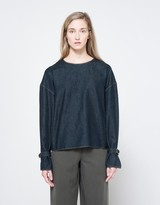 Lemaire Blouse in Indigo