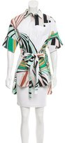 Emilio Pucci Short Sleeve Printed Tunic w/ Tags