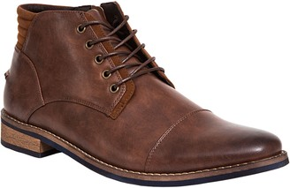Deer Stags Men's Cap-Toe Lace-Up Chukka Boots -Rhodes