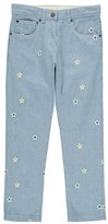Stella McCartney Lohan Embroidered Flower Trousers