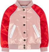 Burberry Child satin teddy jacket