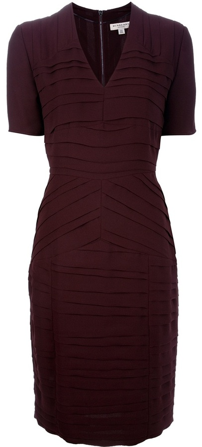 Burberry Fully pleated dress