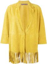 Simonetta Ravizza Irene fringed jacket - women - Suede - 40