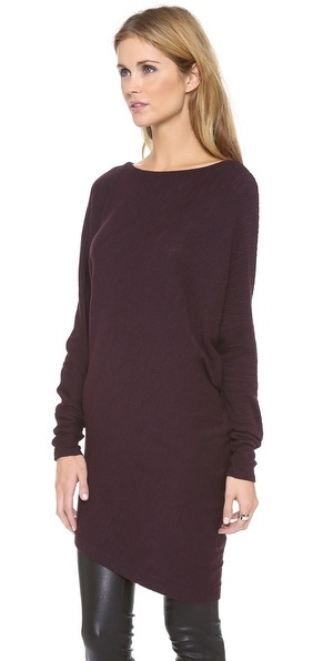 Three Dots Asymmetrical Tunic / Dress