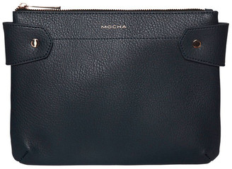Mocha Clip Around Crossbody Bag - Navy