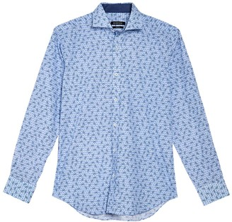 Bugatchi Abstract Print Shirt