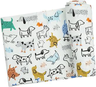 Angel Dear Kid's Cool Pups Printed Swaddle Blanket