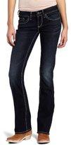 Silver Jeans Women's Aiko Curvy Bootcut Jean