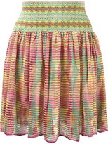 Cecilia Prado flared knit skirt