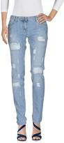 Elisabetta Franchi Denim pants - Item 42591842