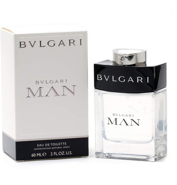Bvlgari Bulgari Men's 2Oz Man Eau De Toilette Spray