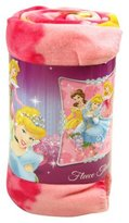 Northwest Company Disney, Princess, Jewels and Flowers 50-Inch-by-60-Inch Fleece Blanket by The