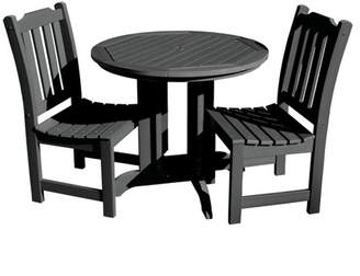 Lehigh 3pc Round Dining Set - Highwood