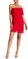 Amy Byer A. Byer One-Shoulder Shift Dress