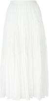 Saint Laurent Folk Voile Maxi Skirt