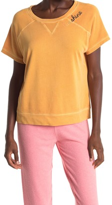 PJ Salvage Embroidered Pajama Top