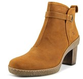 El Naturalista Nf71 Women Round Toe Leather Brown Ankle Boot.