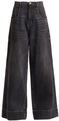 TRE by Natalie Ratabesi The Aaliyah High-Rise Wide-Leg Jeans