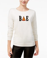Ultra Flirt Juniors' Bae Graphic Sweater