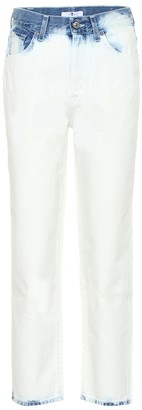7 For All Mankind Malia cropped high-rise jeans