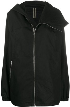 Rick Owens Oversized Hooded Coat