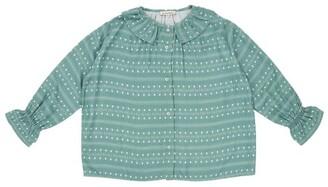 Caramel Button-Down Shirt (3-6 Years)