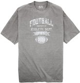 Big & Tall Men's NewportXL Printed T-Shirt - Football/Athletic Dept A (6XLT, )