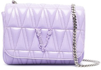 Versace Quilted Cross Body Bag