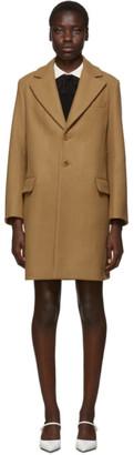 RED Valentino Beige Wool Coat