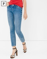 White House Black Market Petite Skinny Crop Jeans