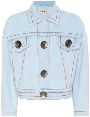 Marni Cropped denim jacket