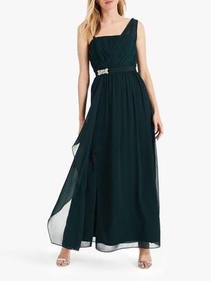 Phase Eight Ilenia Drape Maxi Bridesmaid Dress