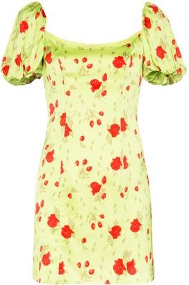 De La Vali Koko floral mini dress