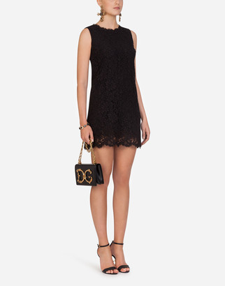Dolce & Gabbana Short Sleeveless Lace Dress