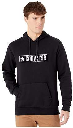 Converse Wordmark Graphic Pullover Black) Men's Sweatshirt