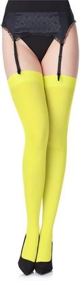 Merry Style Women's Microfiber Stockings MS 799 40 DEN (Pistachio XS-S)