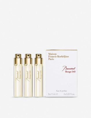 Francis Kurkdjian Baccarat Rouge 540 eau de parfum refills 3 x 11ml