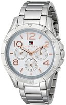 Tommy Hilfiger Women's 1781526 Sophisticated Sport Analog Display Quartz Silver Watch
