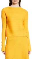 Tibi Women's Ribbed Wool Sweater