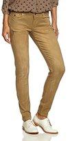 Maison Scotch Women's La Parisienne Zip - Garment Dye Relaxed Jeans