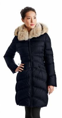 Dawn Levy Lace-Up Parka