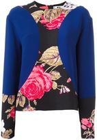 MSGM floral panel jumper