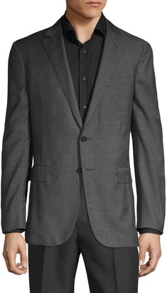 Ralph Lauren Nigel Windowpane Wool Blazer